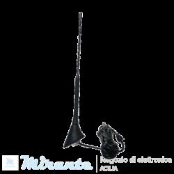 Antenna FM per auto, amplificata - 50cm_mirante_elettronica_Acilia