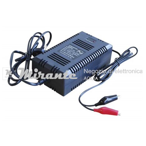 Caricabatterie per batterie piombo 24V 3A Mirante