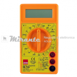 Multimetro Tester | Digitale | 6 gamme di misura_mirante_elettronica_acilia