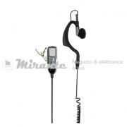 Microfono Auricolare Midland | 2 Pin presa_mirante_elettronica_acilia